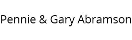 Pennie & Gary Abramson