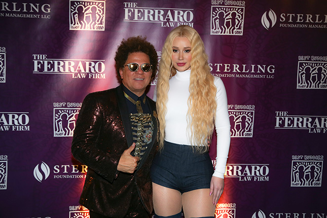 Romero Britto with Iggy Azalea