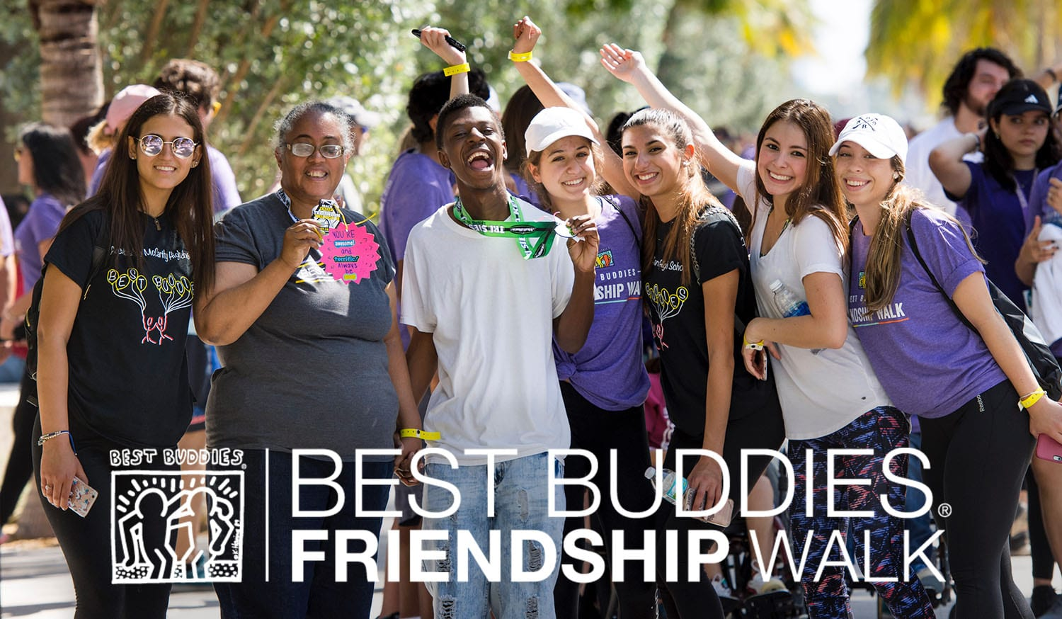 Best Buddies Friendship Walk and Family Festival at Museum Park in Miami on March 11rd, 2017. (Photo by MagicalPhotos / Mitchell Zachs)