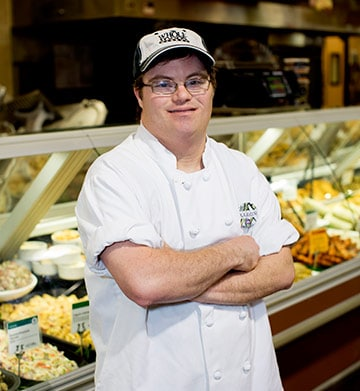 Best Buddies Jobs Participant Aaron Malman at Whole Foods Market