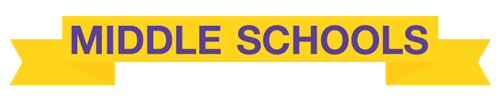 middle schools banner graphic