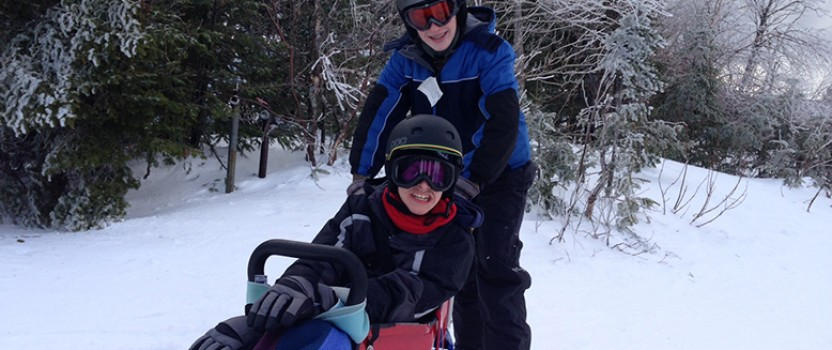 Buddy Pair Hits the Slopes, Discovers True Friendship