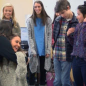 Buddy Reveal Builds New Friendships at Valley View