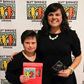 Samantha DeKruiff Honored as the 2015 Champion of the Year