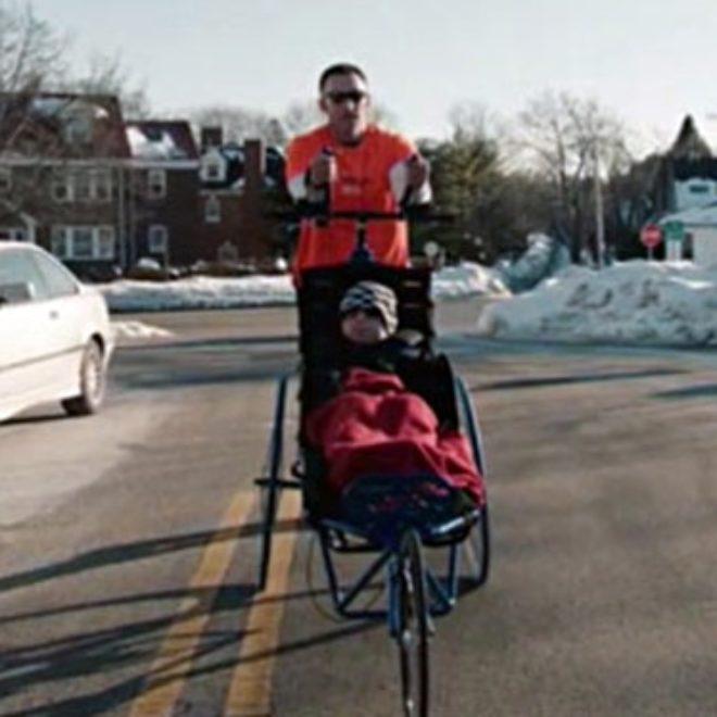 Chernobyl Survivor to be Pushed in Team Hoyt Wheelchair for Boston Marathon