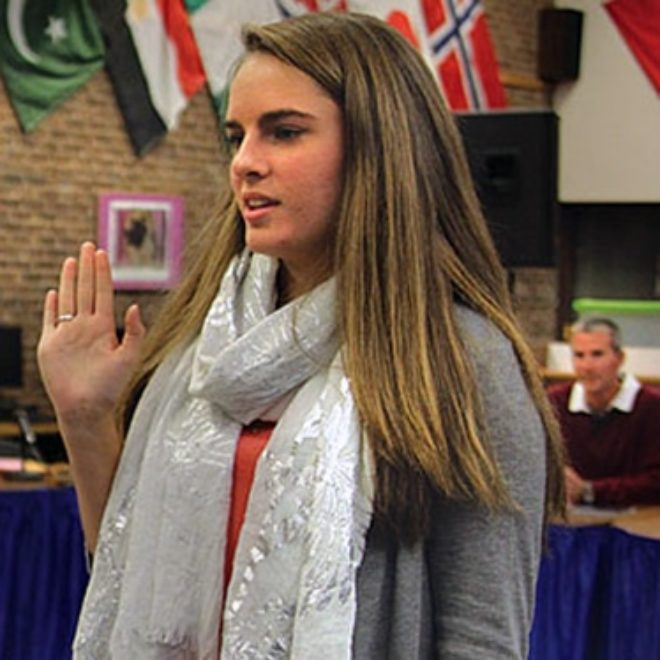 Shoreham-Wading River High School Student Takes a Stand