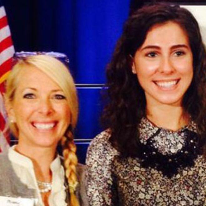 Elise Hirt Wins Mary Strobel Volunteer Award