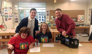 Brookfield Central Best Buddies Appears on WISN 12 News