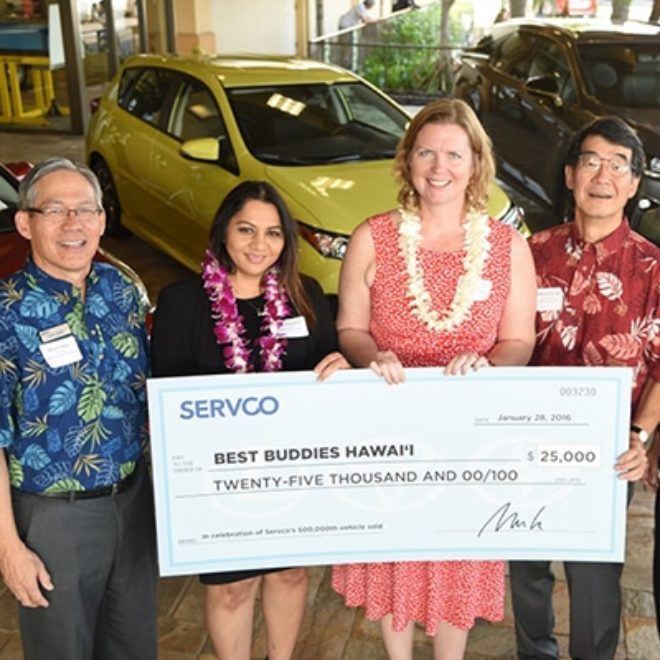 "Best Buddies Hawaii – One of the ""Chosen 10"" Awarded $25,000"