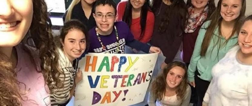BRAVE Best Buddies help Veteran's on Veterans Day