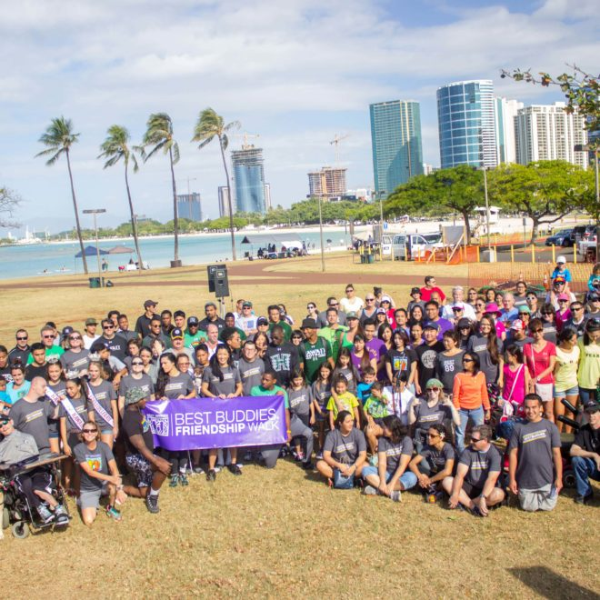 Over $20,000 Raised at 4th Annual Best Buddies Friendship Walk in Oahu