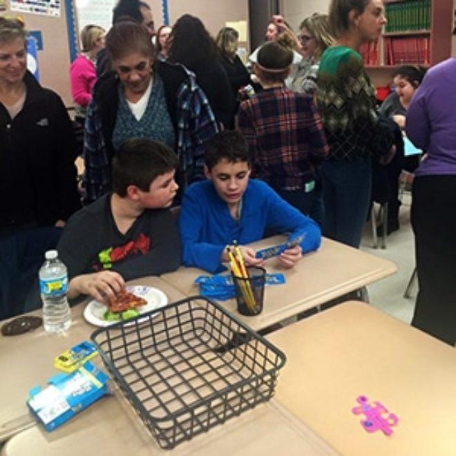 Kickemuit Middle School Match Party