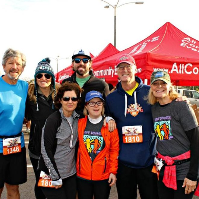 Over $3,000 Raised In Partnership With All Community Events at 2015 St. Louis Turkey Trot