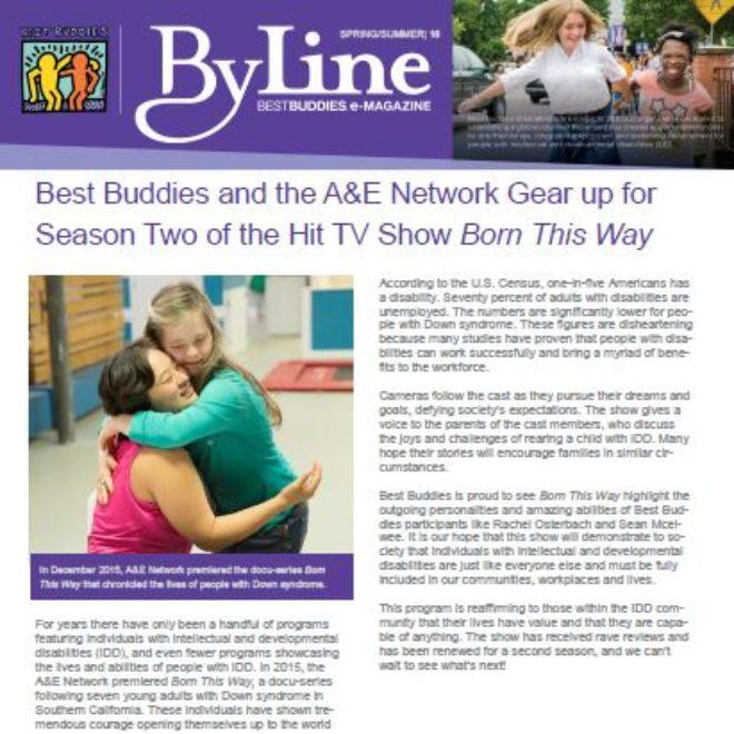 2016 Best Buddies Spring/Summer Byline is in!