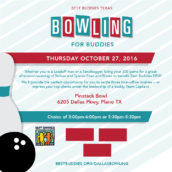 2016 Bowling For Buddies: Pinstack Bowl