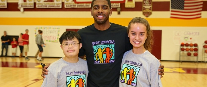 Kyrie Irving Basketball Challenge to benefit Best Buddies Ohio