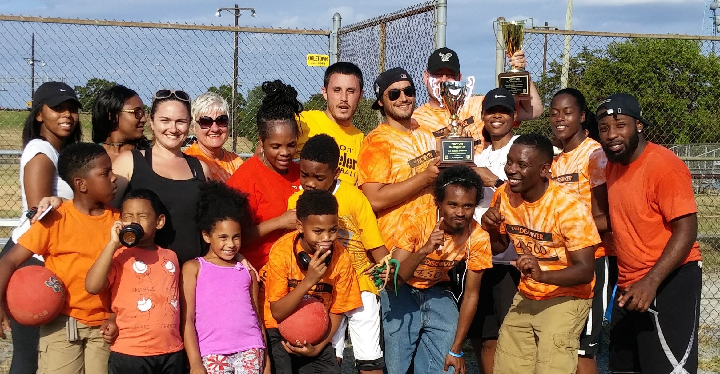 9th Annual Kickball Tournament Sees Discover Take Top Prize