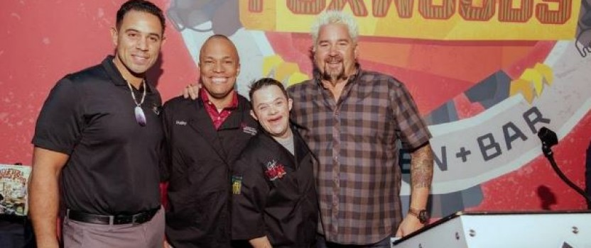 Guy Fieri visits Foxwoods for New Restaurant, Best Buddies event