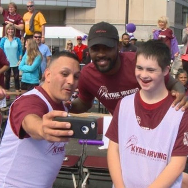 Best Buddies Ohio Kyrie Irving Basketball Challenge (WKYC)