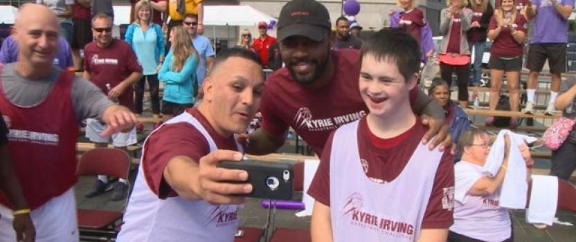 Best Buddies Ohio Kyrie Irving Basketball Challenge (WKYC)