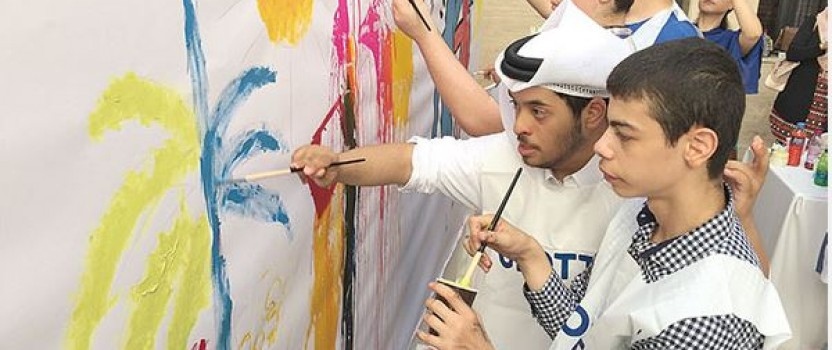 Best Buddies Qatar Marks World Day of People with Disabilities with Art, Sports Activities