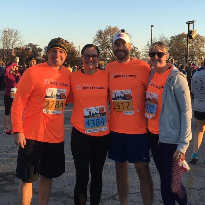 Team Best Buddies Raises $4,000 at the 2nd Annual Milwaukee Running Festival