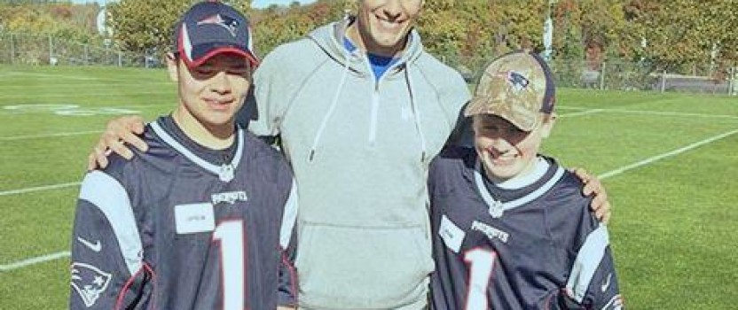 LHS Best Buddies team up with Tom Brady