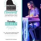 Broward Benefit Concert Starring Brittany Maier – Inclusion Tour