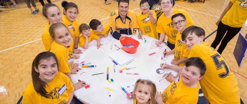 Josi Teams Up with Best Buddies Tennessee