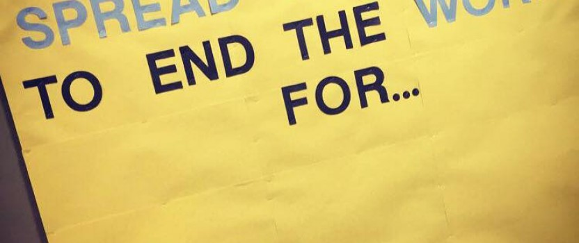Wheelock College Spreads the Word to End the Word (VIDEO)