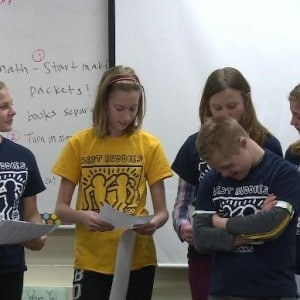 Best Buddies team up to educate classmates on 'Spread the Word to End the Word' campaign