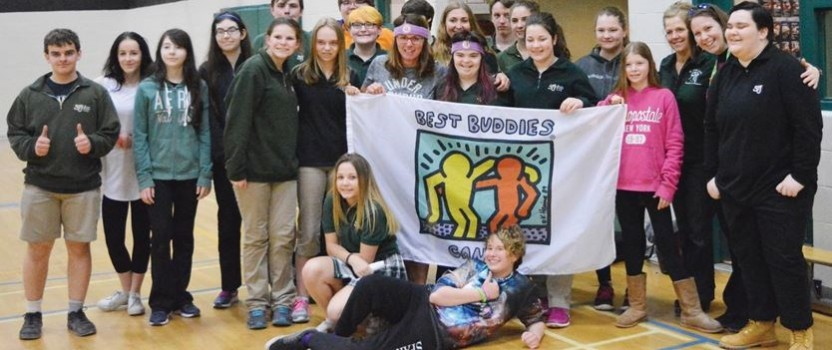 Basketball Shooting Competition for Best Buddies