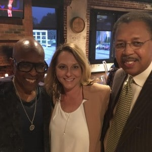 David Porter, Melissa Todd and Shelby County Commissioner Willie Brooks