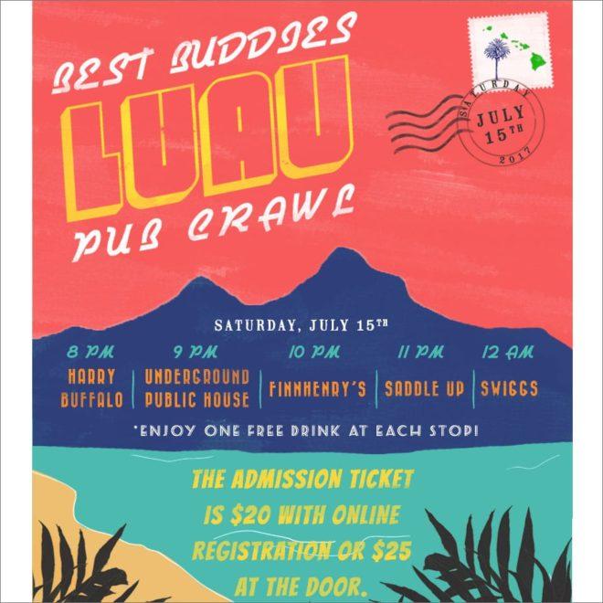 2017 Best Buddies Luau Pub Crawl