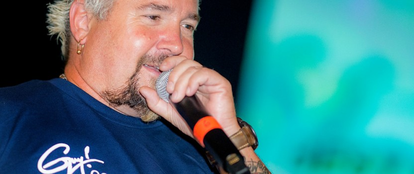 Guy Fieri Talks Television Fame, Home Cooking and Teaming Up with Tom Brady for a Good Cause
