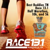 Best Buddies Tennessee Race 13.1 – Half Marathon, 10k, and 5k