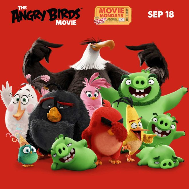 "Movie Monday at Ballpark Village featuring ""Angry Birds The Movie"""