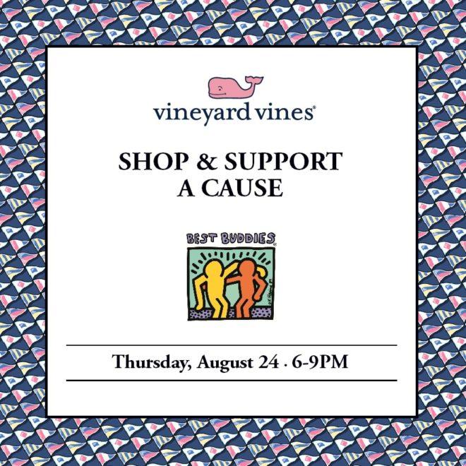 Vineyard Vines Shop & Support Best Buddies