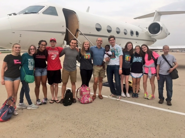 Capital Region Students Fly to Bloomington in Style