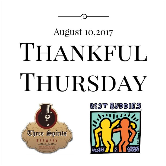Thankful Thursday with Best Buddies