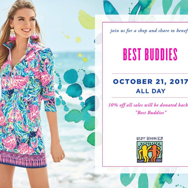 Shop at Lilly Pulitzer and Support Best Buddies