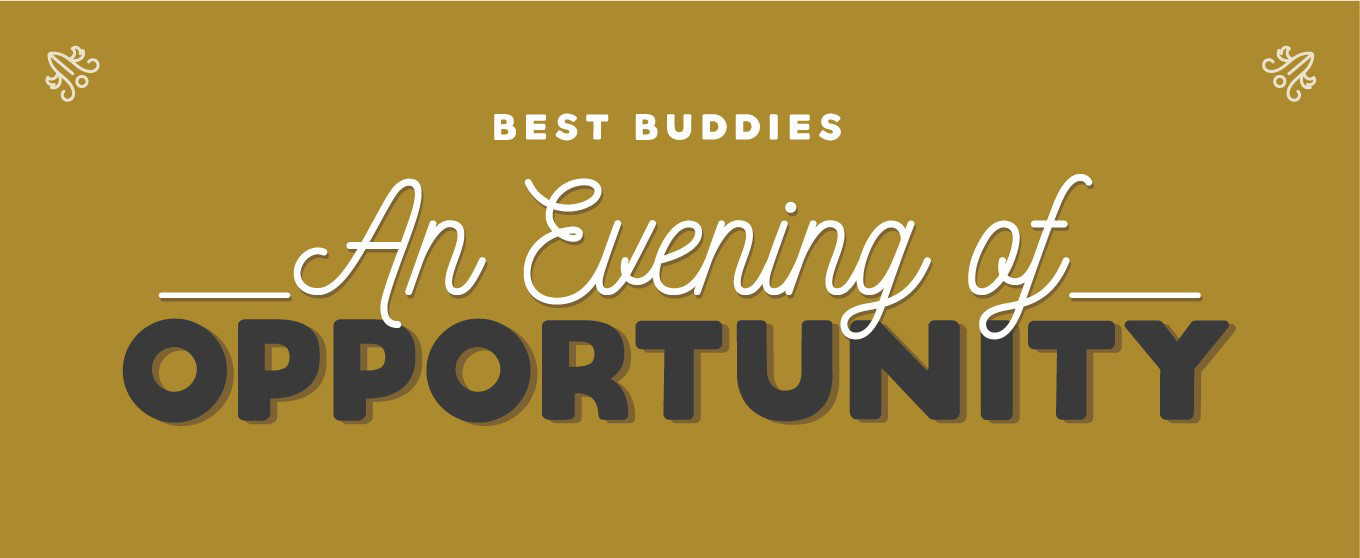 Best Buddies in MA & RI An Evening of Opportunity Event Logo