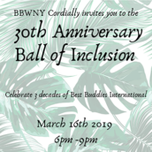 30th Anniversary Ball of Inclusion