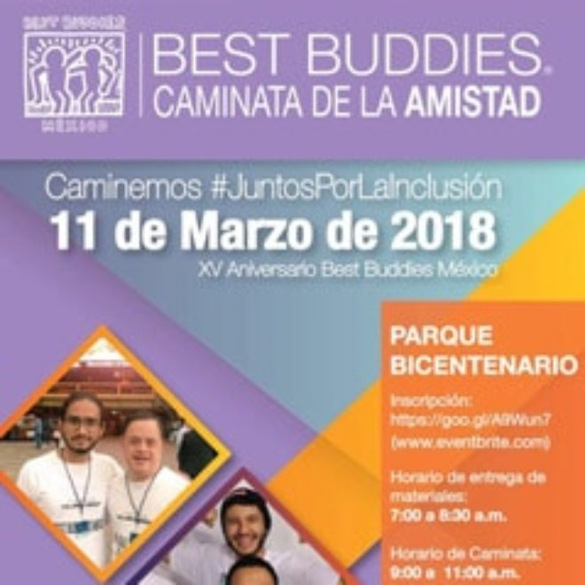Best Buddies Mexico: 15th Anniversary & Annual Friendship Walk