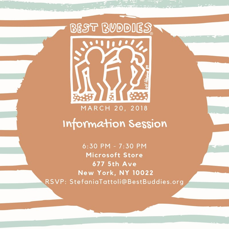 Best Buddies New York Info Session