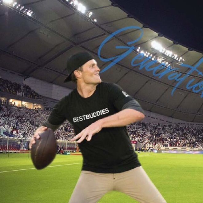 Best Buddies Global Ambassador Tom Brady Visits Qatar to Launch Employment Initiative for Individuals with Disabilities
