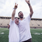 Patriots spend fun night at Brady's annual Best Buddies Football Challenge