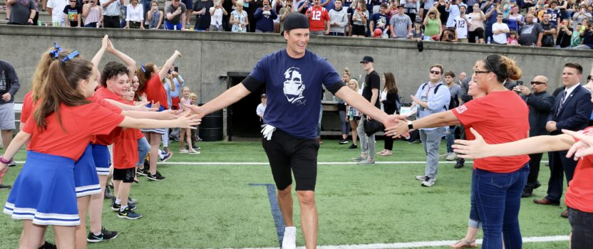 Tom Brady Returns to Field for Best Buddies Football Game