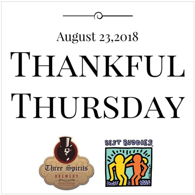 Thankful Thursday with Three Spirits Brewery