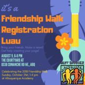 Best Buddies Friendship Walk Registration Luau: Albuquerque, NM